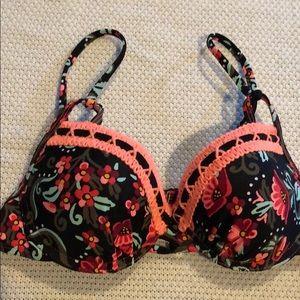 Floral Bikini Top NWT